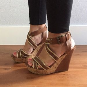 G by Guess platform wedges 8.5
